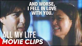 Sam tells Louie the truth (6/7) | 'All My Life' | Movie Clips