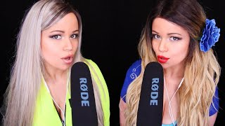 ASMR MOUTH SOUNDS INTENSE with 🤤 Twin Tingles 🤤 [VERY TINGLY]