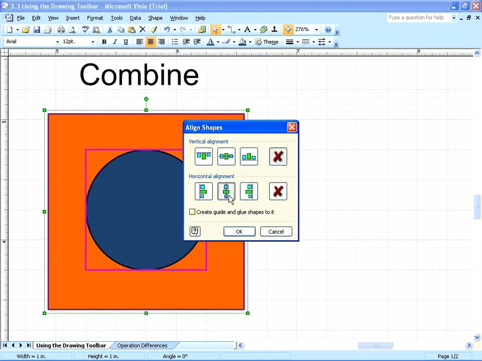 Visio 2007 - Create Custom Shapes