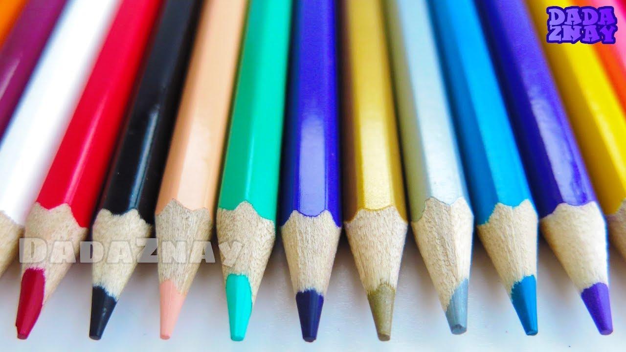 Учим английский алфавит|Цветные карандаши| Алфавит для ...