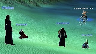 EVERQUEST - 5 Necros and a Cleric test run for Selo server launch #2