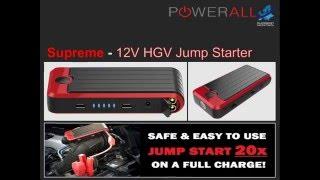 "PowerAll ""Supreme"" 12V Jump start"