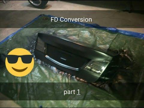 8th Gen civic FD rear conversion, Part 1
