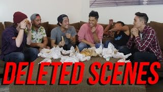 DELETED SCENES: 40 HOTDOGS IN 10 MIN CHALLENGE!
