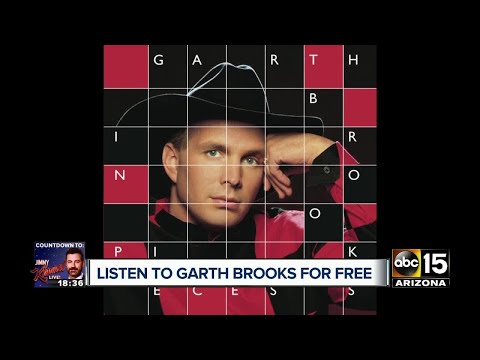 Heres how to get Garth Brooks albums for FREE