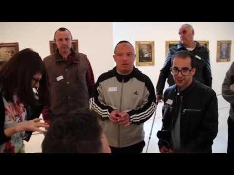 Plena Inclusión Ceuta, en el Museo Thyssen de Málaga