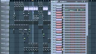 Par de gatitas farruko ft gadiel ñejo flow fl studio Remake!! intrumental