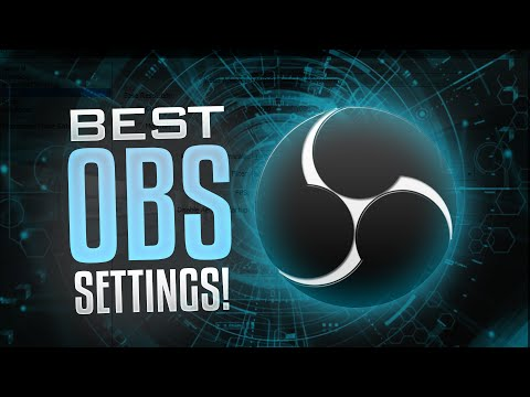 BEST OBS Screen Recording Settings! HD Screen Recording! (Tutorial)