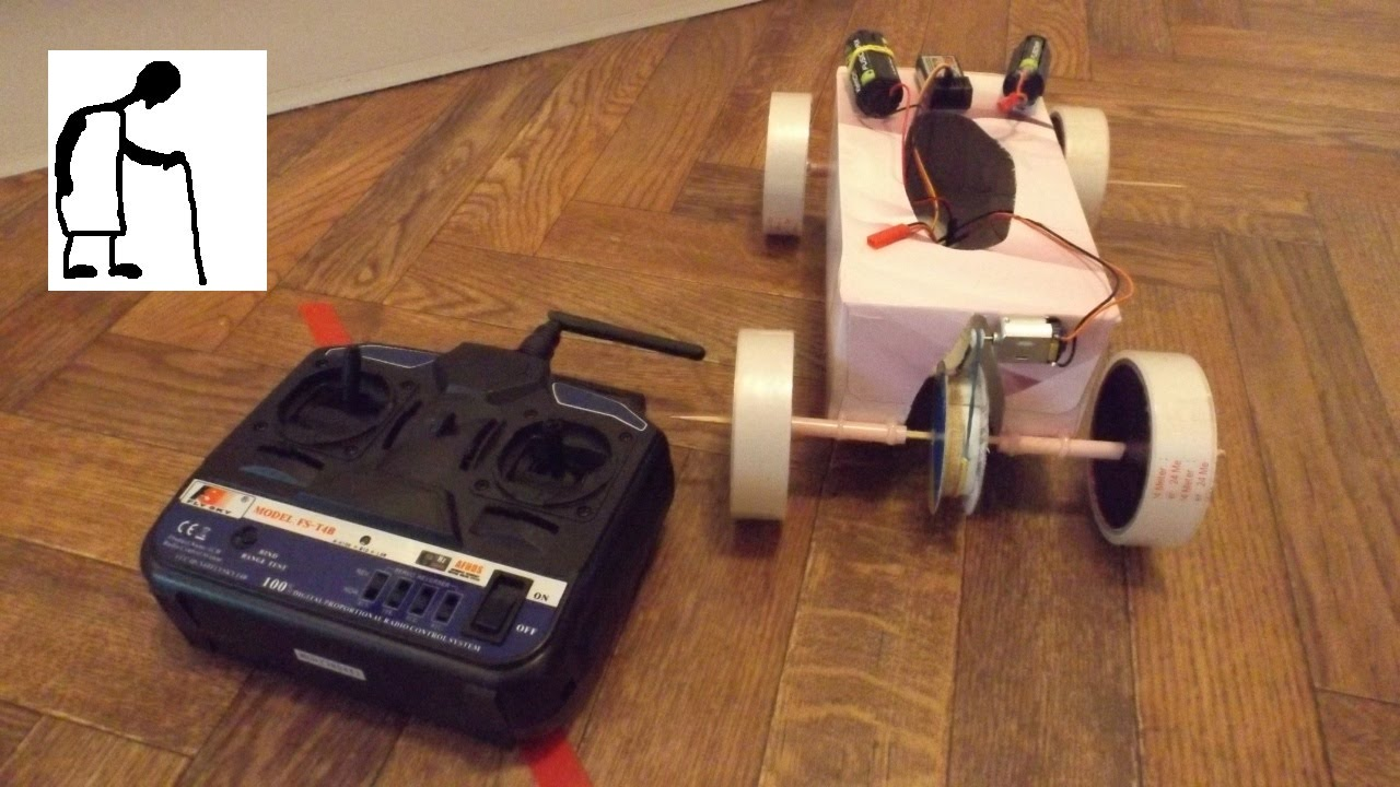 Rc Electric Tissue Box Car Youtube