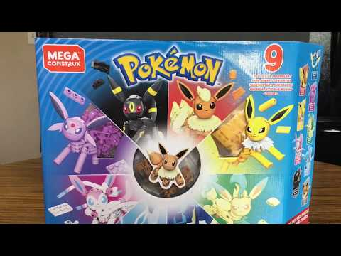 The Mega Construx Pokemon Every Eevee Evolution Set has come at last!!!