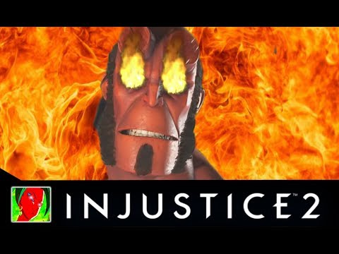 Thumbnail: Injustice 2 - Hellboy All Savage Intro Dialogues