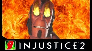 Injustice 2 Hellboy All Savage Intro Dialogues