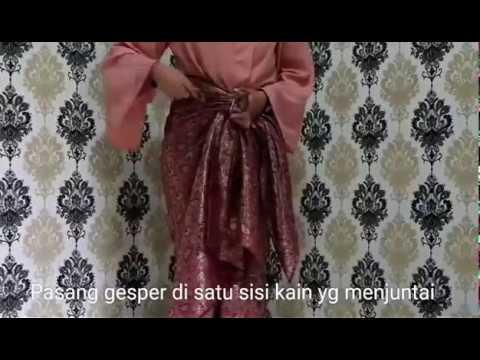 TUTORIAL MEMAKAI KAIN LILIT (2 EASY WAYS) by chandani indonesia