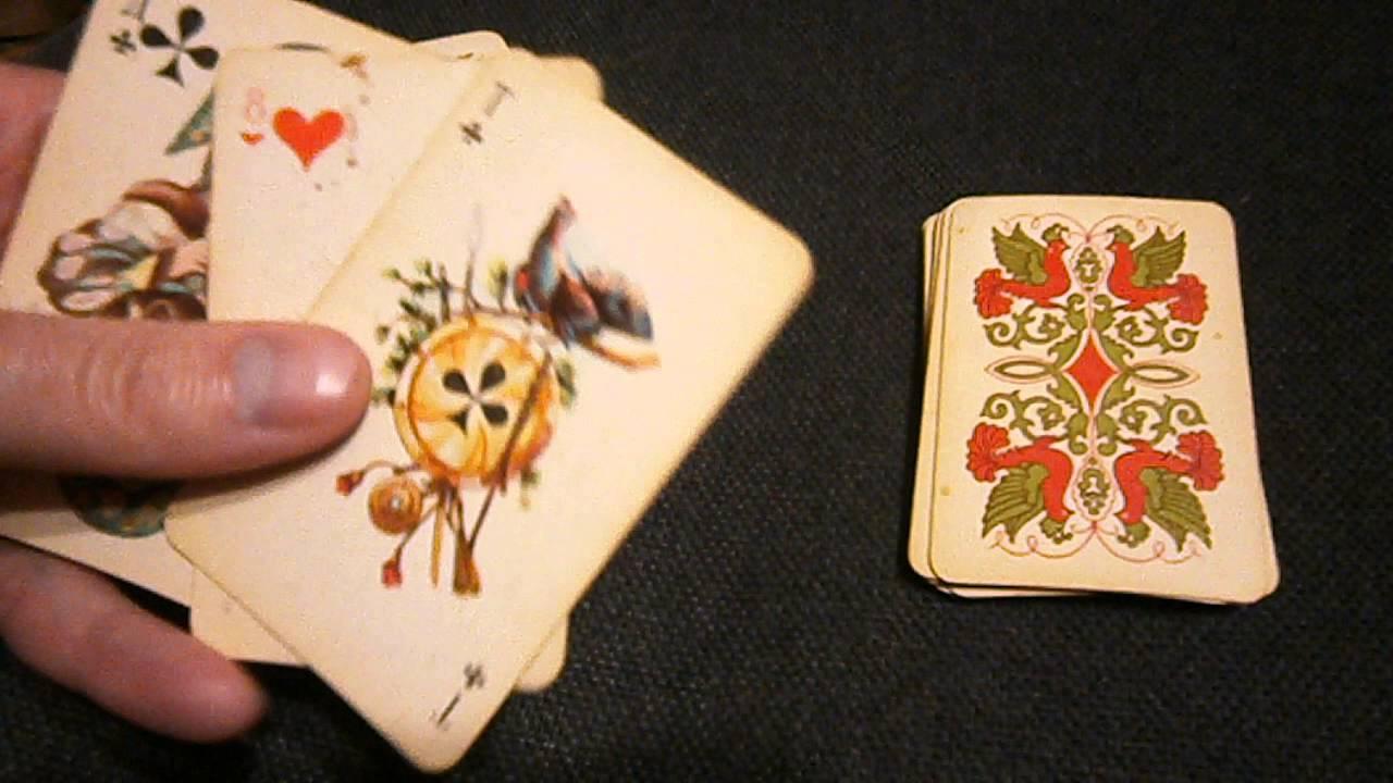 карточная игра пиковая дама