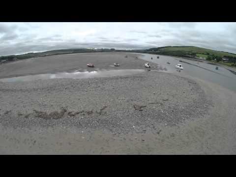 FPV Flight over Traeth Beach Gwbert