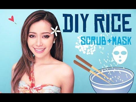 DIY Rice Scrub + Mask - Tự Làm Tẩy Tế Bào Chết Và Mặt Nạ Từ Gạo