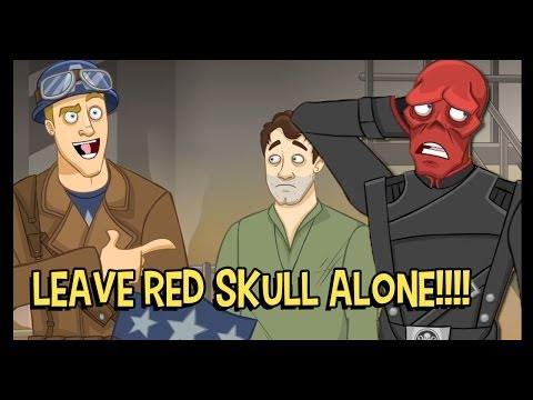 Captain America is Grossed Out By Red Skull - The Cutting Room
