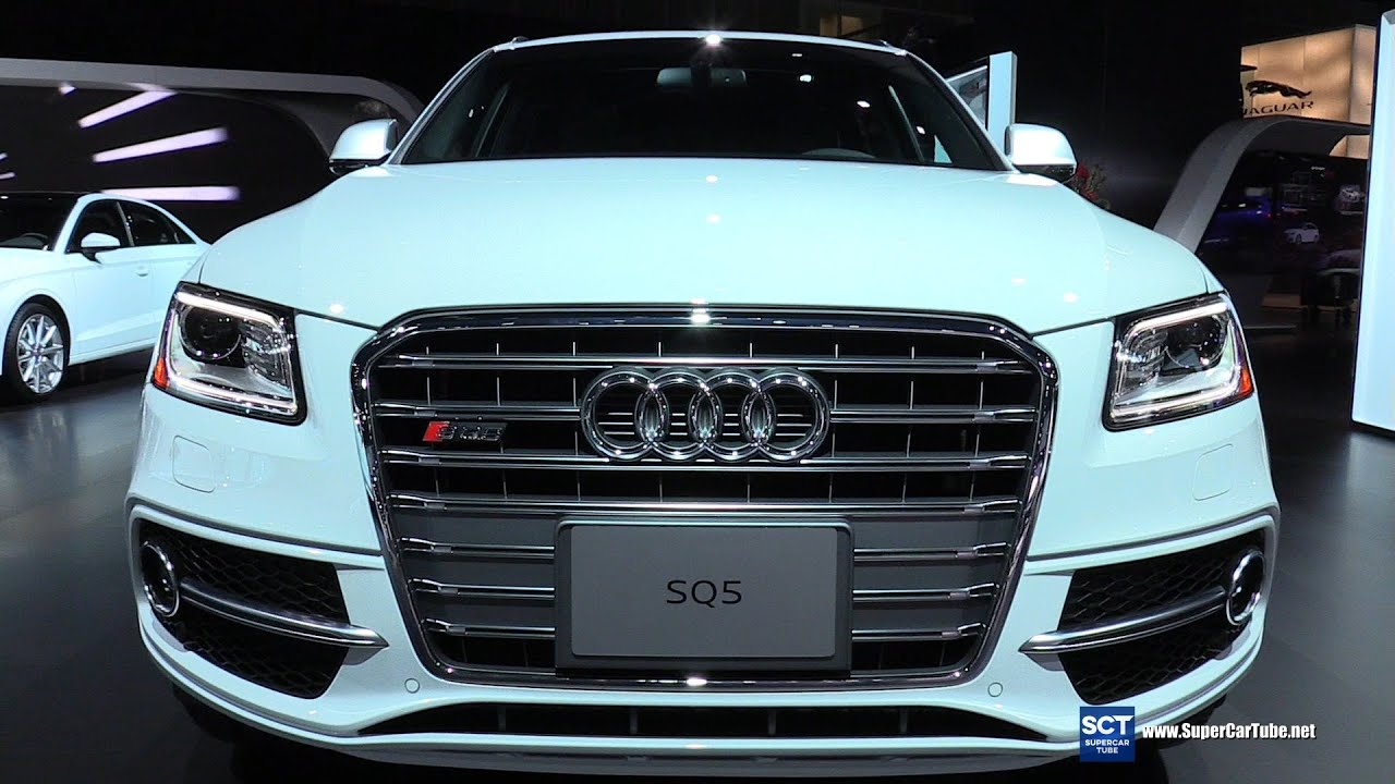 2016 audi sq5 supercharged exterior and interior walkaround 2015 la auto show youtube. Black Bedroom Furniture Sets. Home Design Ideas