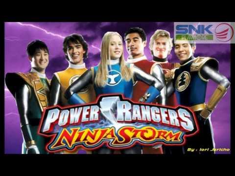 Power Rangers Ninja Storm Theme [OFFICIAL Instrumental]