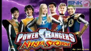 Power Rangers Ninja Storm Theme [OFFICIAL Instrumental]