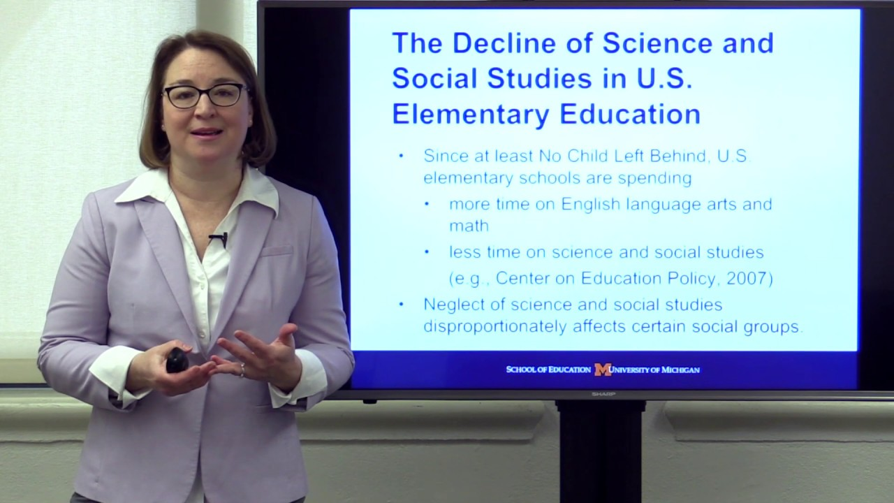 Speaking Up for Science and Social Studies