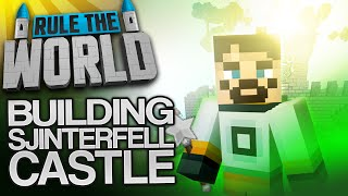 Minecraft Rule The World #59 - Sjinterfell Castle Build (Part One)