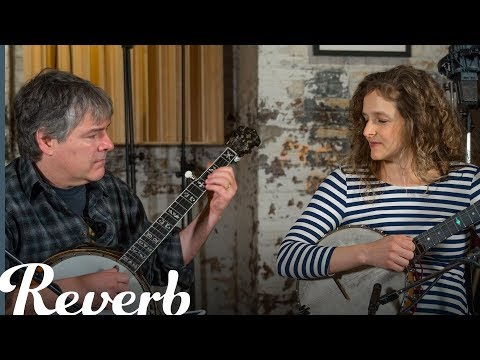 """Béla Fleck & Abigail Washburn Perform """"Over the Divide"""" 