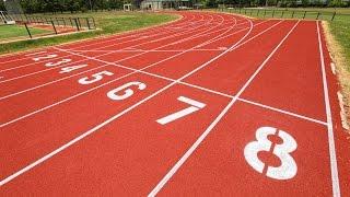 Instalación cancha de hockey y pista de atletismo de alta competencia colegio St John Panamericana