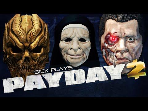 PAYDAY 2 Arch Nemesis | The Nun | Robo Arnold Mask | DLC GOTY