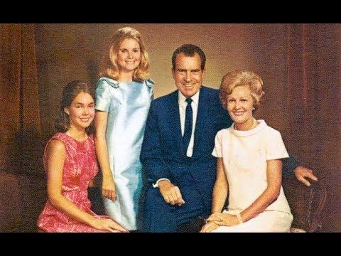 Президент США Ричард НИКСОН и Пэт Никсон - биография, жизнь, любовь