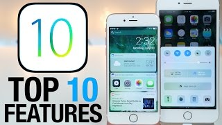 Top 10 iOS 10 Features - What's New Review