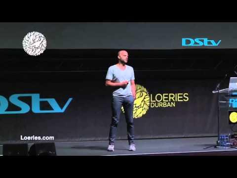 Ali Ali at the Loeries DStv Seminar of Creativity 2015