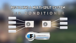 Multi split system air conditioning