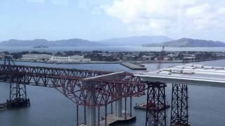 Sf-oakland Bay Bridge New Span Under Construction