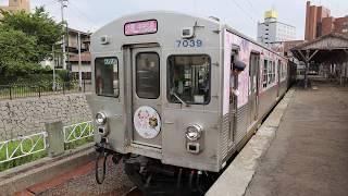 弘南鉄道 桜ミクラッピング列車