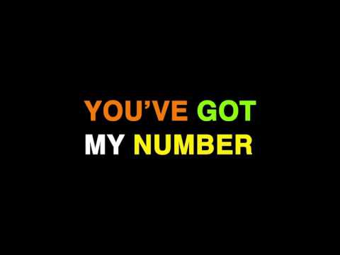 Paper Lions - My Number (Official Lyric Video)