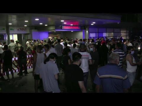 مستشفيات لبنان تعج بالجرحى والمصابين جراء الانفجار الذي هز العاصمة بيروت  - نشر قبل 53 دقيقة