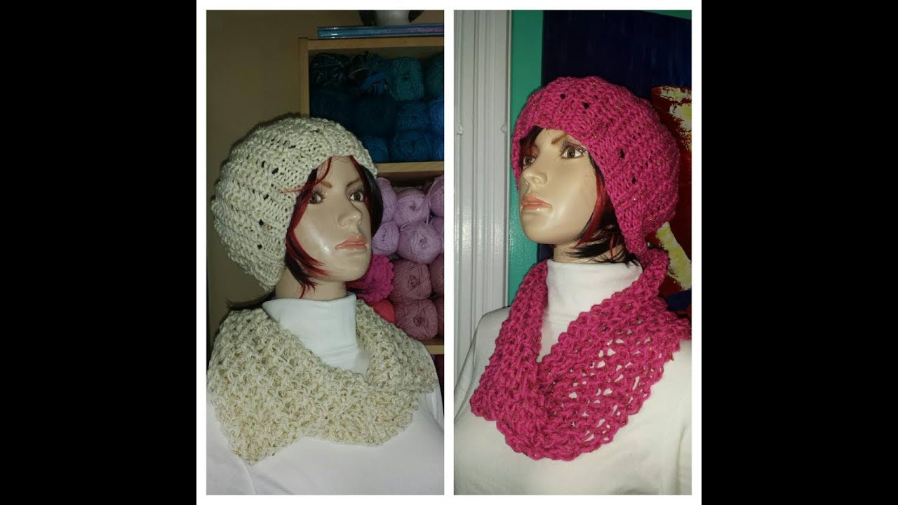 c40882c41 How to knit a scarf For the set with the hat - With Ruby Stedman
