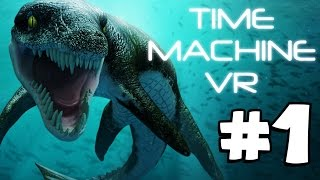 Time Machine VR | PREHISTORIC OCEANS (Playthrough Part 1)