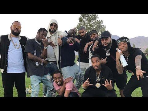 Travis Scott, Drake, P Diddy, Rae Sremmurd, Kendall Jenner & French Montana Turning Up At Coachella