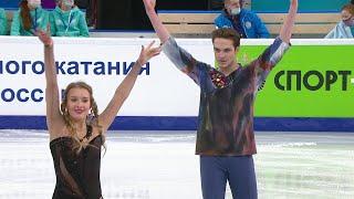 Произвольный танец Танцы на льду Первенство России по фигурному катанию среди юниоров 2021
