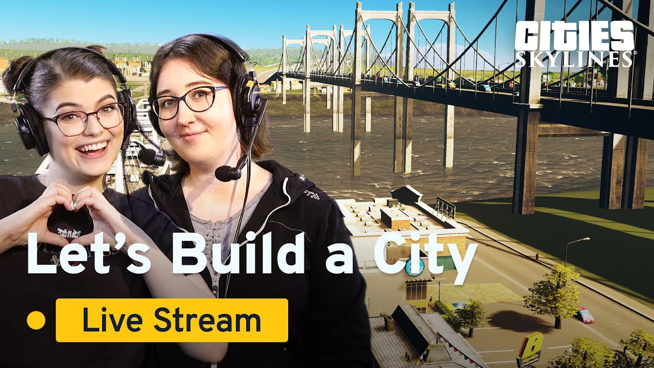 Cities Skylines | Community Stream | Beginners Guide #4