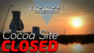 Cocoa Shipyard Work Paused – SpaceX Starship Updates – NASA Goes Private