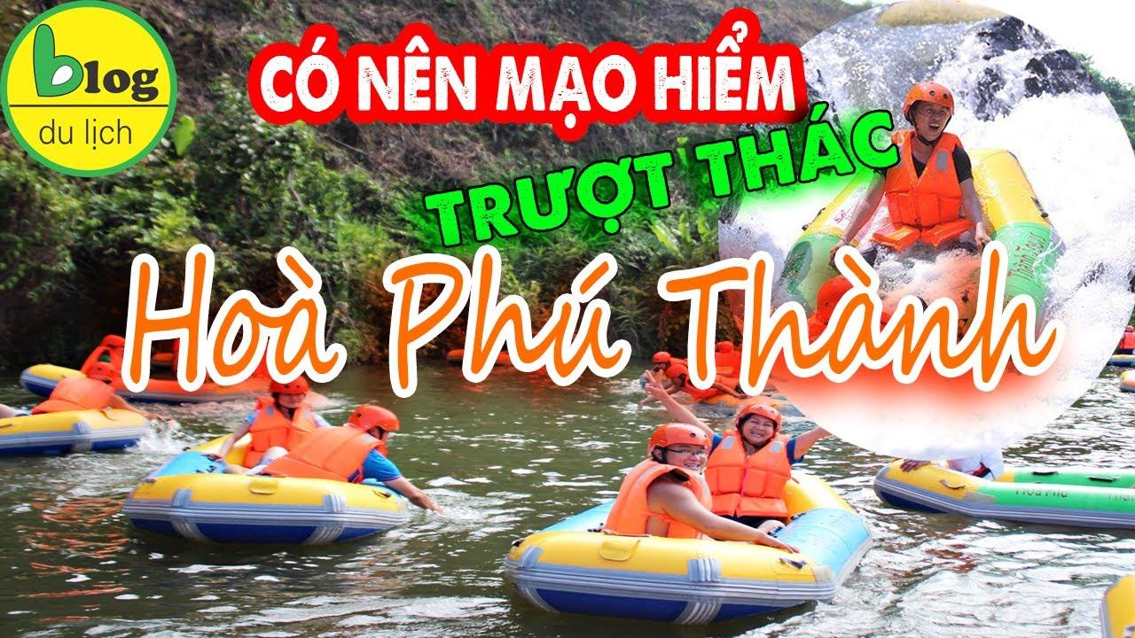 Đi du lịch Đà Nẵng bạn có dám trượt thác Hoà Phú Thành?