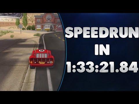 Disney/Pixar Cars: Mater National Regular Required Events Speedrun in 1:33:21.084 *World Record*