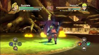 Naruto vs. Deidara Full Fight Shippuden Pc gameplay 2015