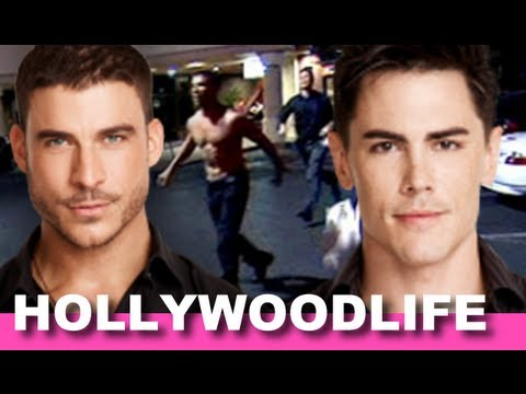 Jax & Tom From Vanderpump Rules Take Shots & Throw Punches