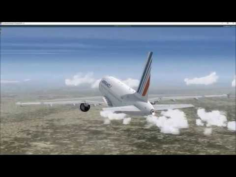 Vol P3D Biarritz (LFBZ) - Lyon (LFLL) en A318