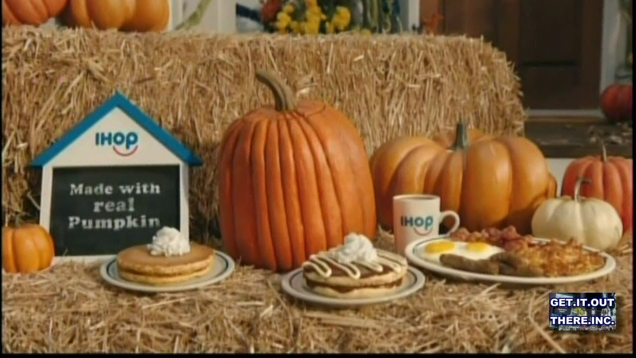 Ihop Halloween Pumpkin Commercials 2020 Funny IHOP Halloween Commercial   YouTube