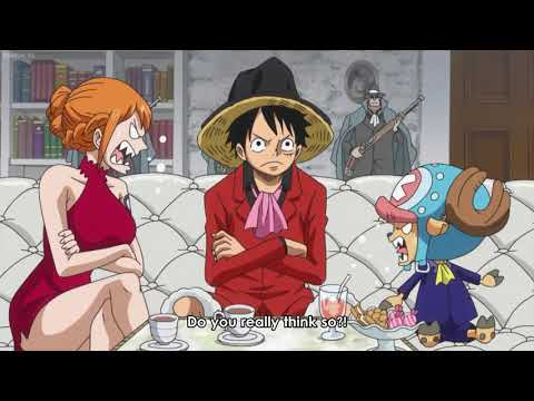 Luffy is really idiot 😂😂😂 - Funny moments of One Piece episodes 827 & 828 [ Try To Not Laugh ]